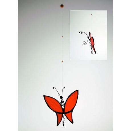 Mariposa mediana