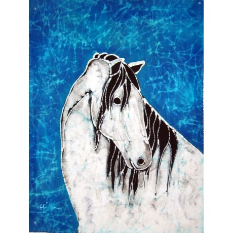 Batik Spanish Horse