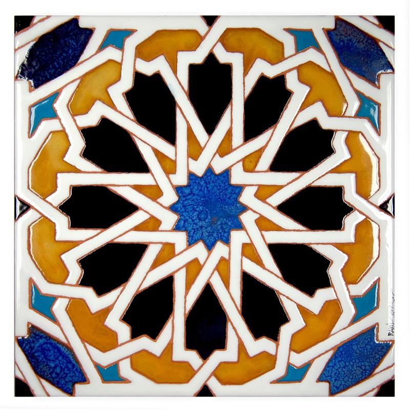 Azulejo sevilla asociaci n cordobesa de artesanos - Azulejos con dibujos ...